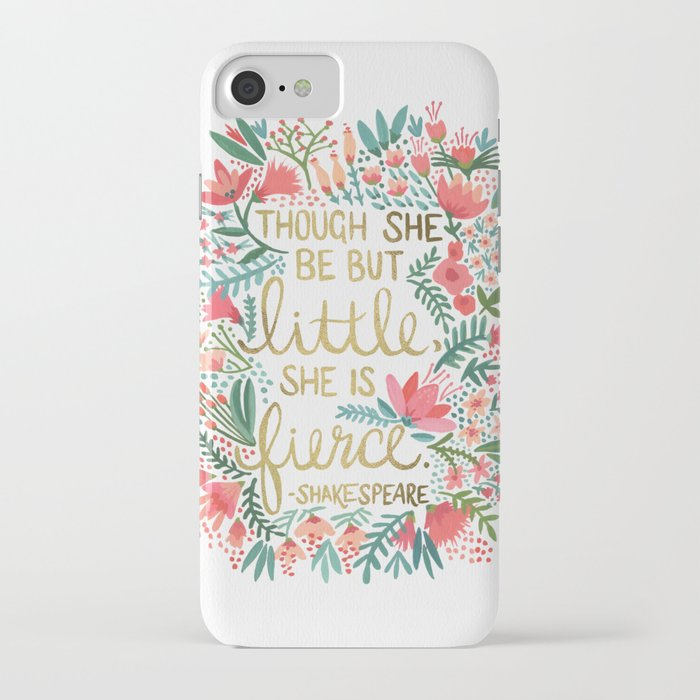 little & fierce iphone case
