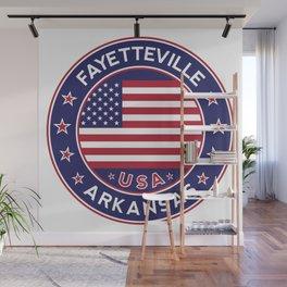 Fayetteville, Arkansas Wall Mural