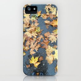 Autumn Floor iPhone Case