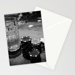 Poker Time Stationery Cards