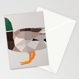 DUCK LOW POLY ART Stationery Cards