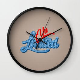 Unlimited | Unstoppable Wall Clock