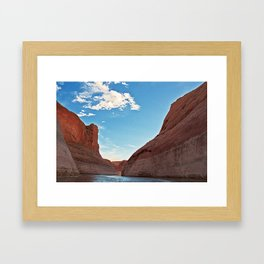 Lake Powell, Utah 2012 Framed Art Print