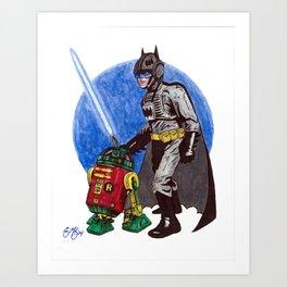 Bat Skywalker Art Print