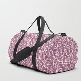 Pink confetti. Festive design. Duffle Bag