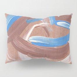 Falling Water Abstract Pillow Sham