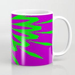 The Modern Flower Purple & Green Coffee Mug