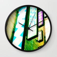 Neon Glow Wall Clock