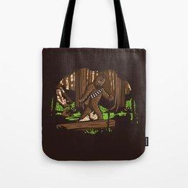 The Bigfoot of Endor Tote Bag