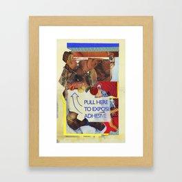 TWERK Framed Art Print