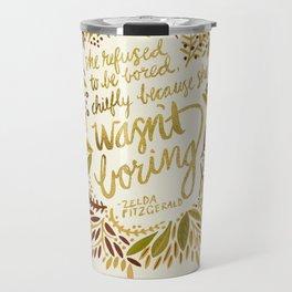 Zelda Fitzgerald – Fall Palette Travel Mug