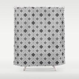 5 Oriental patterns Shower Curtain