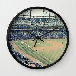 Take me out to the Ballgame! Wall Clock