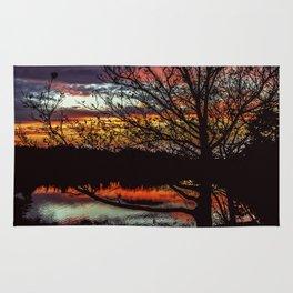 Halibut Point Sunset Rug