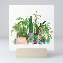 Plant Family Portrait Mini Art Print