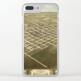 Sedalia 1869 Clear iPhone Case