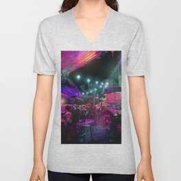 Tunes of the Night Unisex V-Neck