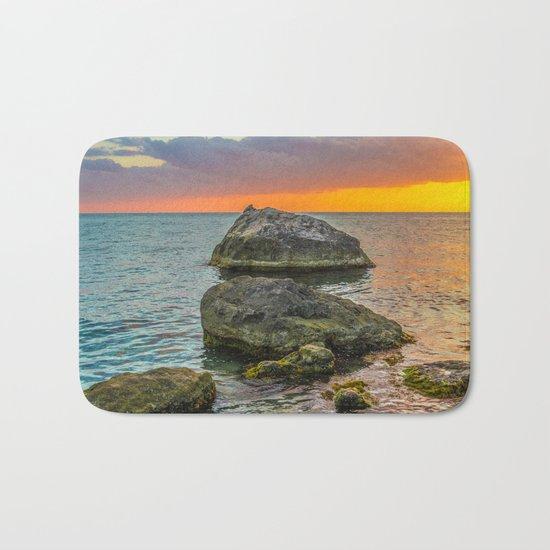 Sea stones Bath Mat