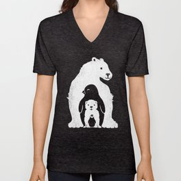 Arctic Friends Unisex V-Neck