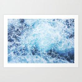 Foamy Art Print