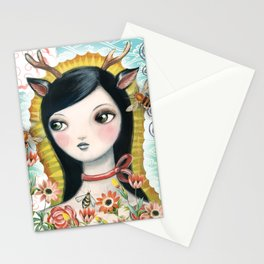Dear Girl Saint by CJ Metzger Stationery Cards