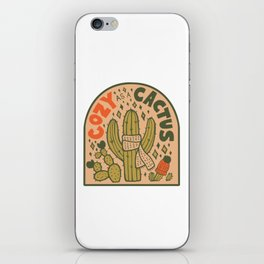 Cozy as a Cactus iPhone Skin