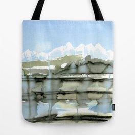 Unfreezing Tote Bag
