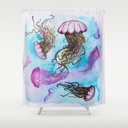 Colorful killers Shower Curtain