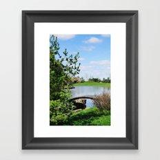 crossing over... Framed Art Print