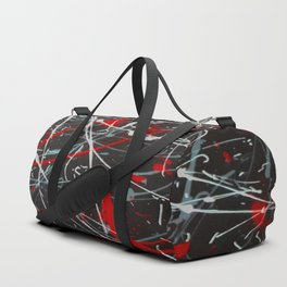 Screaming In Anger Duffle Bag