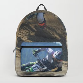 Dishing the Dirt - Motocross Champion Race Backpack