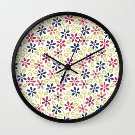 Matisse Floral Wall Clock