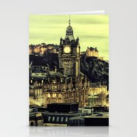 edinburgh Stationery Cards featuring Edinburgh by EclipseLio
