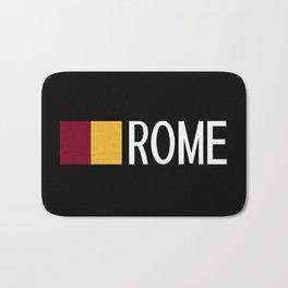 Italy: Roman Flag & Rome Bath Mat