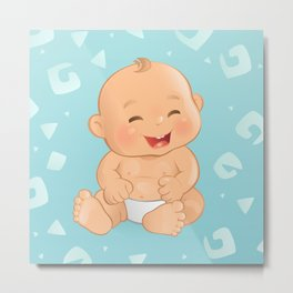 Baby Boy Metal Print