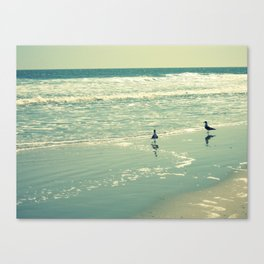 Glistening Sea Canvas Print