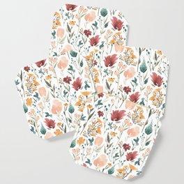 Deep Florals Coaster