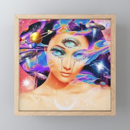 Alien Third Eye Framed Mini Art Print