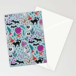 Halloween felt patches Stationery Cards