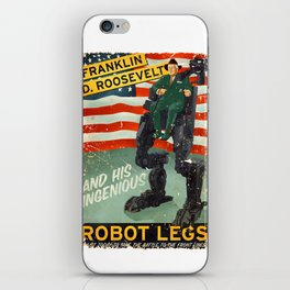 Franklin D. Roosevelt and his Amazing Robot Legs.... iPhone Skin