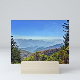 Blue Ridge Mountains Mini Art Print