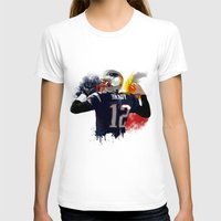 patriots T-shirts featuring Tom Brady by J Maldonado