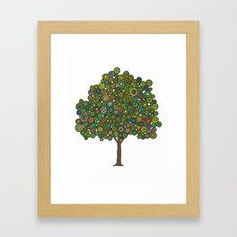 Marble Tree Framed Art Print