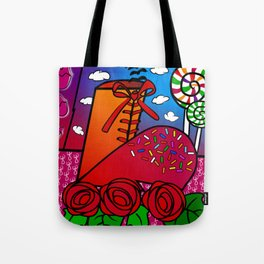 Almost teenage girl Tote Bag