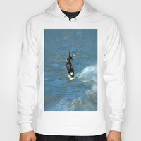 surfer Hoodies featuring Surfer by Laake-Photos