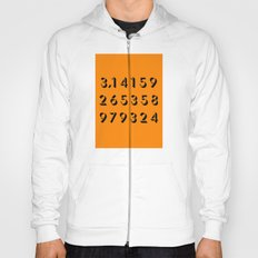 Pi - 3,14 -Orange Hoody