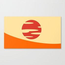 Samurai Champloo- Sunset Canvas Print