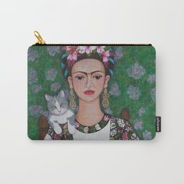 Frida cat lover Carry-All Pouch