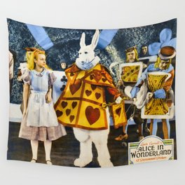 Alice In Wonderland 1933 Wall Tapestry