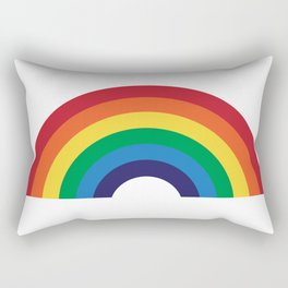 70's Love Rainbow Rectangular Pillow